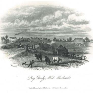 Long Bridge, West Maitland c.1855