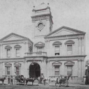 West Maitland Town Hall c.1900