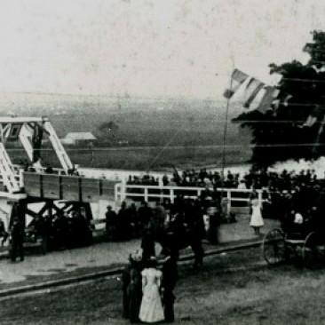 Morpeth Bridge opening